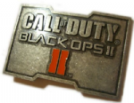 Call of Duty Black Ops II Belt Buckle with display stand - Officially Licensed